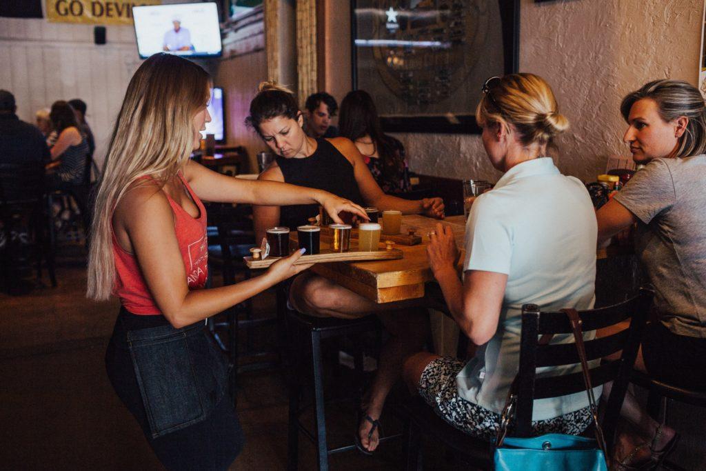 Bartender en el trabjo